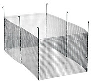 Pacific Accents Modular Garden Fence 6pc set - H289737