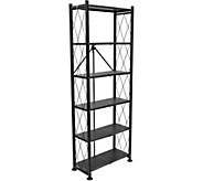 Pop-It 6-Tier Collapsible Book & Storage Shelf - H295837