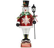 Ships 8/7 Kringle Express Indoor/Outdoor 50 Oversized Lit Snowman - H217738