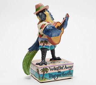 Jim Shore Heartwood Creek MargaritavilleMusical Parrot