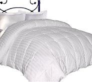 Blue Ridge 350TC Damask Stripe Down Twin Comforter - H285838