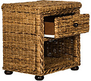 Magi Wicker One-Drawer Nightstand by Valerie - H291038