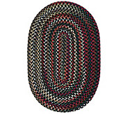 Chestnut Knoll 7 x 9 Oval Braided Rug by Colonial Mills - H130039