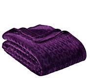Berkshire Blanket Braided Velvet Soft Full/Queen Bed Blanket - H302839