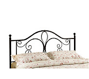 Hillsdale House Milwaukee Twin Headboard - Antiqued Brown Fin - H156340