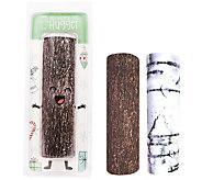 Tree Hugger Set of 2 Reversible Adjustable Tree Pole Covers - H213140