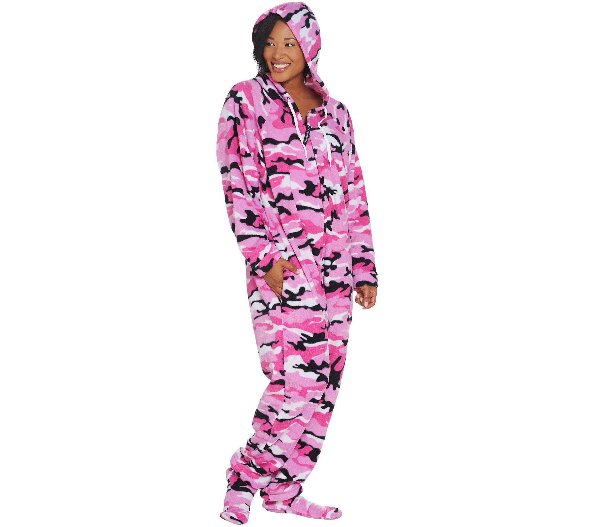 fe5063324 Forever Lazy Fleece Adult Onesie with Pocket