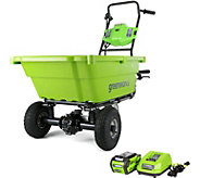 Greenworks 40V Self-Propelled Garden Cart - H295040