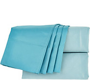 Home Reflections 600TC Easy Care Reversible 6pc Queen Sheet Set - H210241