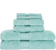 Northern Nights Cotton Tencel 6 Piece Towel Set - H214741