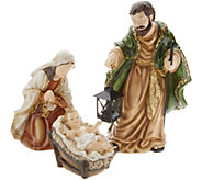 Indoor/Outdoor 3-Piece Holy Family Display by Valerie - H216541