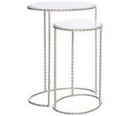 Inspire Me! Home Decor 2-Piece Nesting Side Tables - H216641