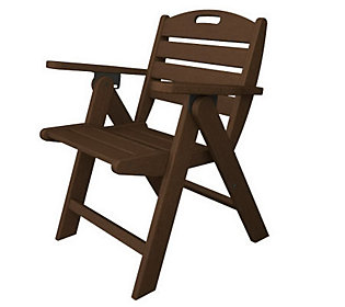 POLYWOOD Nautical Low Back Chair
