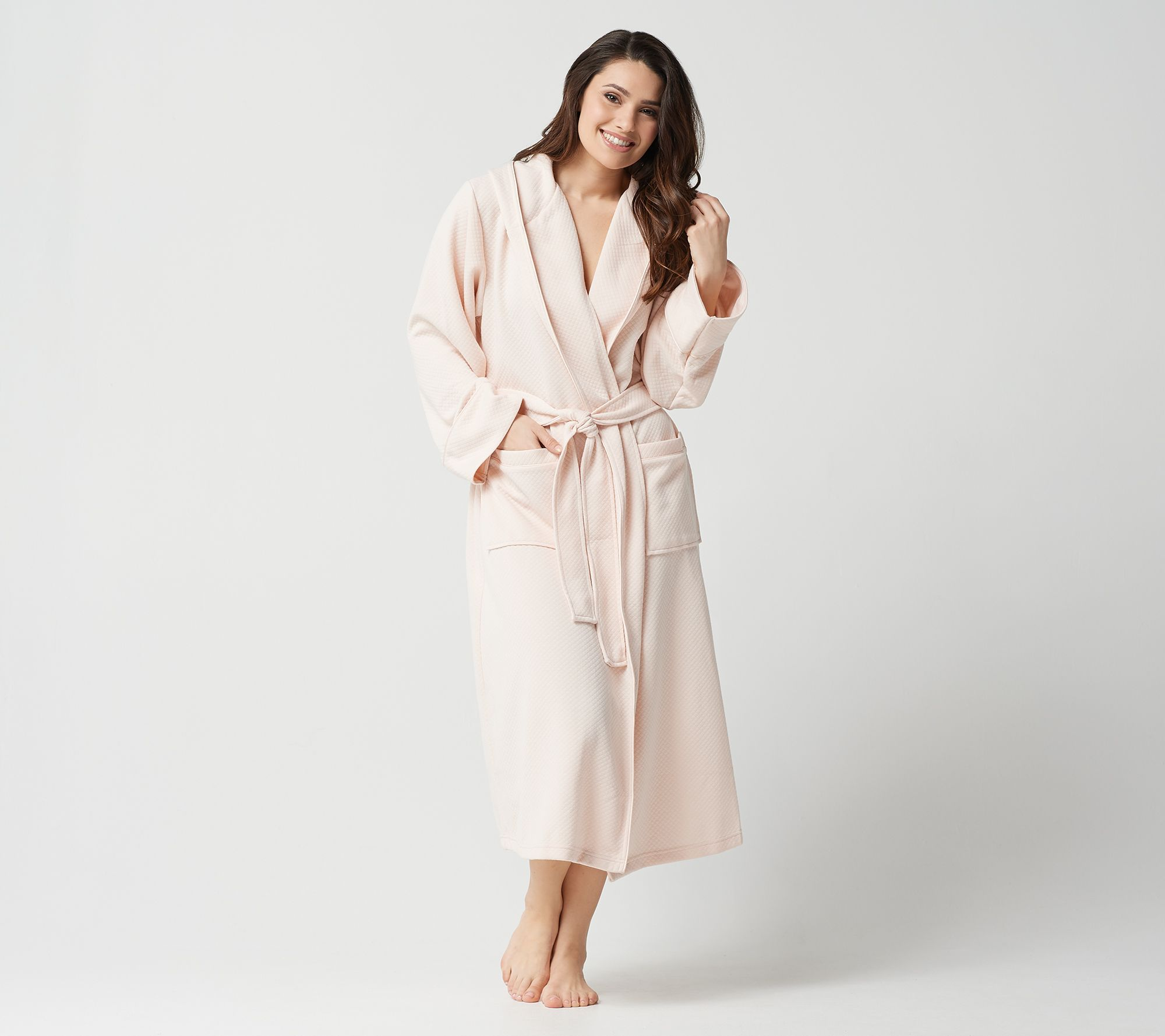 Stay by Stacy Garcia Diamond Quilted Spa Robe with Hood - Page 1 ... 7dcd1e070