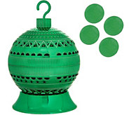 HomeWorx by Harry Slatkin TreeWorx Ornament Ball w/4 Gelables - H212343
