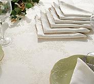 Casa Zeta-Jones 60 x 84 Tablecloth & 8 Napkin Set with Stain Resist - H216743