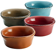 Rachael Ray Cucina Stoneware 4-Piece Dipping Cup Set - H283543