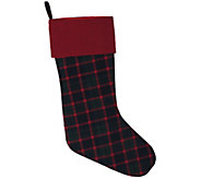 8 x 19 Highlands Plaid Collection Stocking  by Vickerman - H301243