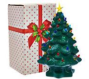 Mr. Christmas 14 Nostalgic Tabletop Tree w/ Super Bright LED Lights - H208544