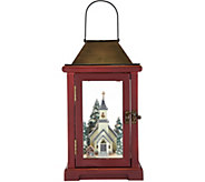 Choice of 15 Illuminated Lantern with Winter Scene by Valerie - H212144