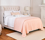 Stay by Stacy Garcia Signature Puffy Knit Link Full/Qn Blanket - H217144