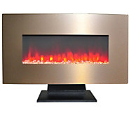 Cambridge 36 Electric Fireplace w/ Crystal Rock Display - H295244