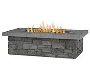 Real Flame Sedona 52 Rectangular Fire Table w/Conversion Kit - H370444