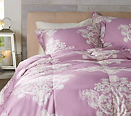 Casa Zeta-Jones Antique Lace QN 400TC Cotton 550 Fill Power Down Comforter - H213245