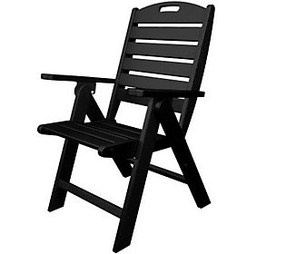 POLYWOOD Nautical High Back Dining Chair