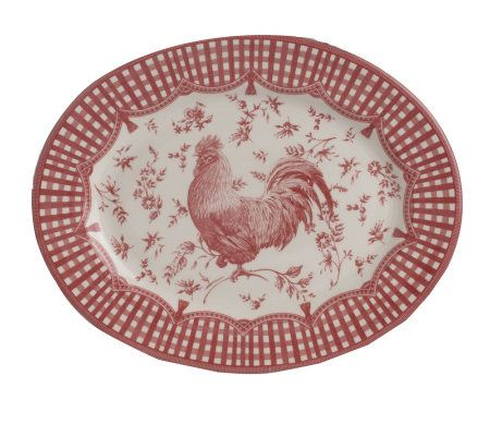 sc 1 st  QVC.com & Churchill 45-piece Rooster Dinnerware Service for 8 - Page 1 u2014 QVC.com