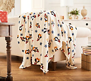 Berkshire Blanket 60x80 Super Oversized Velvet Soft Holiday Throws - H215846