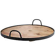 Down to Earth Reclaimed Wood Lazy Susan - H298246