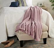 Casa Zeta-Jones 50 x 70 The Gracie Faux Fur Throw - H215847