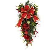 Indoor/Outdoor Illuminated 32 Holiday Cheer Teardrop by Valerie - H216547