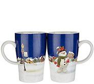 Lenox Set of 2 Heat Change Porcelain Mug Set - H217047