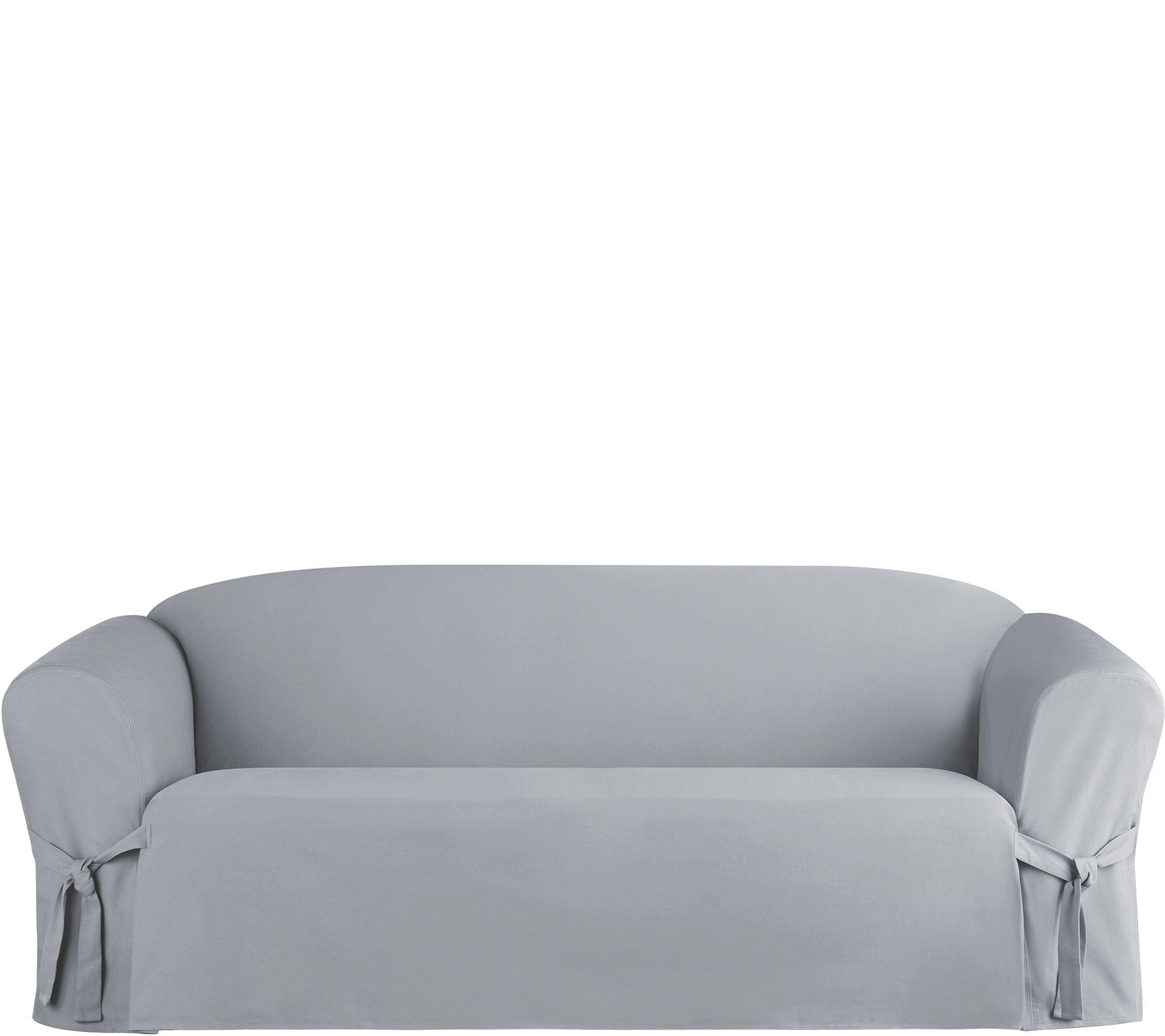 Heavyweight Cotton Duck Sofa Slip Cover