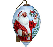 Santas Feathered Friend Ornament by NeQwa - H294247