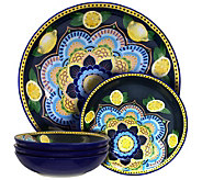 Elama Luna Di Limon 5-Piece Pasta Serving Bowl Set - H295847