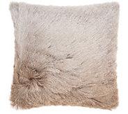Mina Victory Illusion Shag 20 x 20 Throw Pillow - H301747