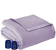 Shavel Micro Flannel Queen Electric Comforter/Blanket - H301947