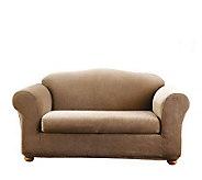 Sure Fit Stretch Stripe 2-Piece Sofa Slipcover - H180748