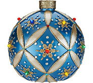 Kringle Express Indoor/Outdoor 14 Illuminated Ornament with LED Lights - H211548