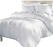Elle 500TC Damask Stripe White Goose Down Full/Queen Comforte - H290048