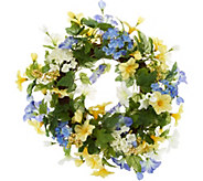 Morning Glory Wreath by Valerie - H213549
