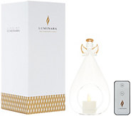 Luminara Angel Ornament with Tealight & Remote in Gift Box - H216049