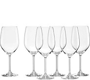 Lenox Tuscany Classics Set of 6 Classic White Wine Glasses - H293449