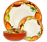 Elama Fruitful Bounty 5-Piece Pasta Serving Bowl Set - H295849