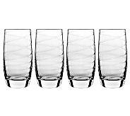 Luigi Bormioli 19-oz Romantica Beverage Glasses- Set of 4 - H364949