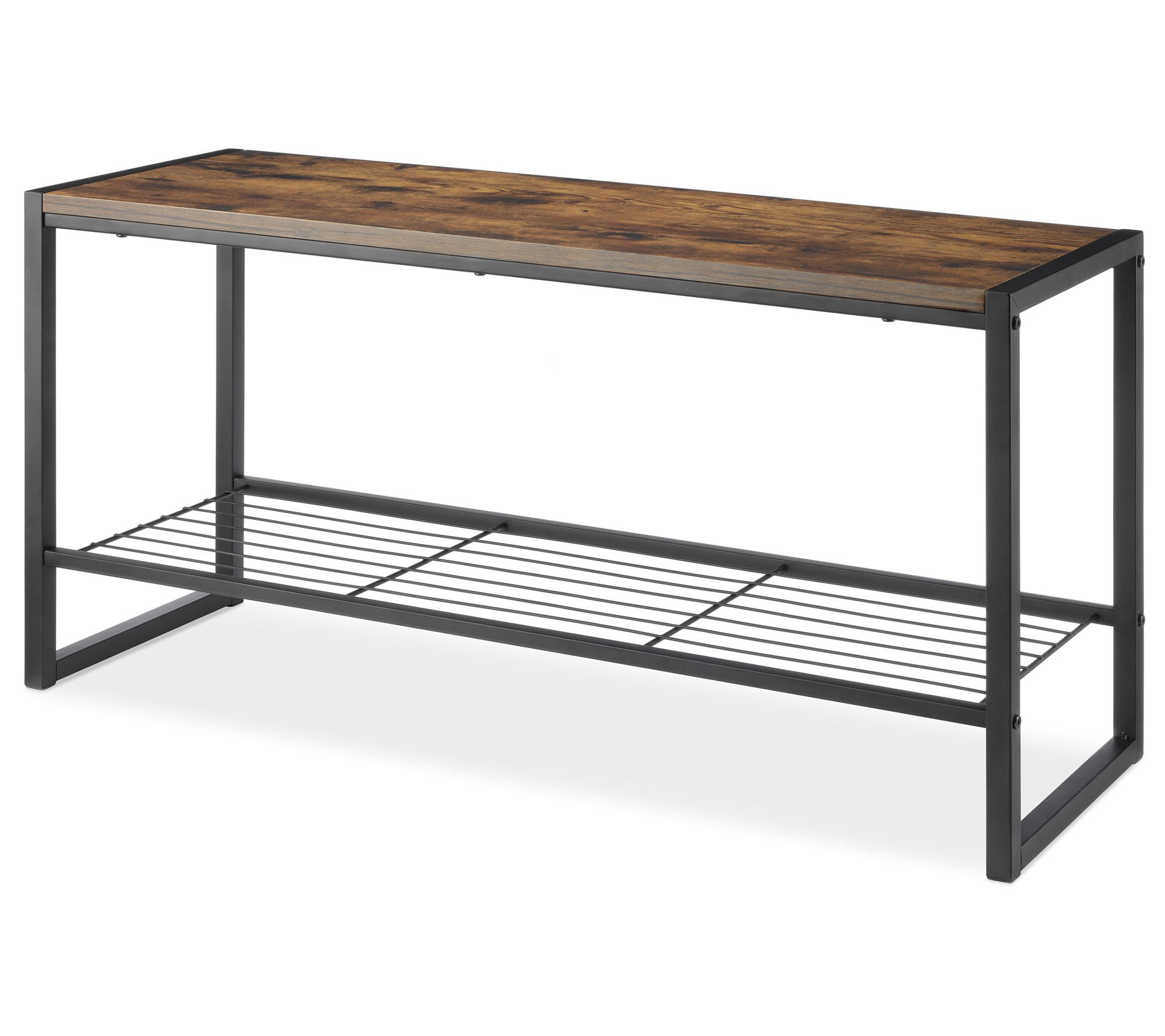 Whitmor Modern Entryway Bench With Shoe Storage Qvc Com,What Is The Best Paint For Kitchen Cabinets