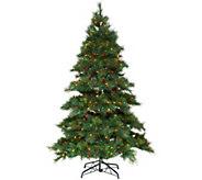 As Is Bethlehem Lights 4.5 Prelit Pine Tree - H215050